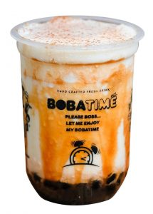 Bobatime Brown Sugar Fresh Milk Menu
