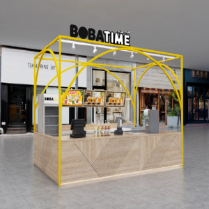 Franchise Bobatime Booth di Mall